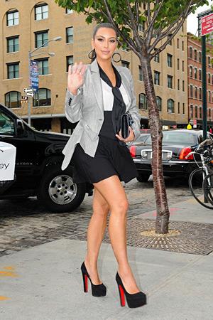 Kim Kardashian celebrity paradise