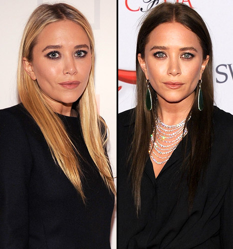 Mary Kate Olsen Dyes Her Hair Brown