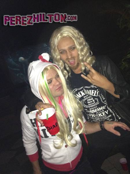 deryck whibley ari cooper avril lavigne chad kroeger halloween costume 2012