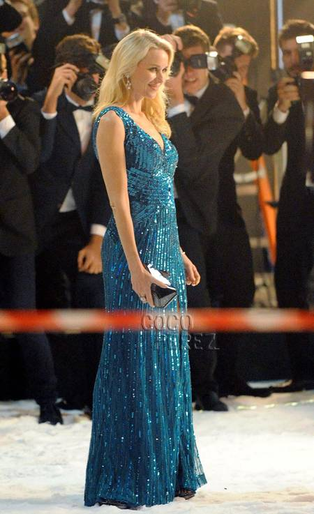 naomi watts shooting commercial for el corte ingles