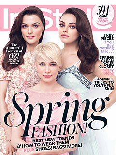 Michelle Williams Jason Segel InStyle