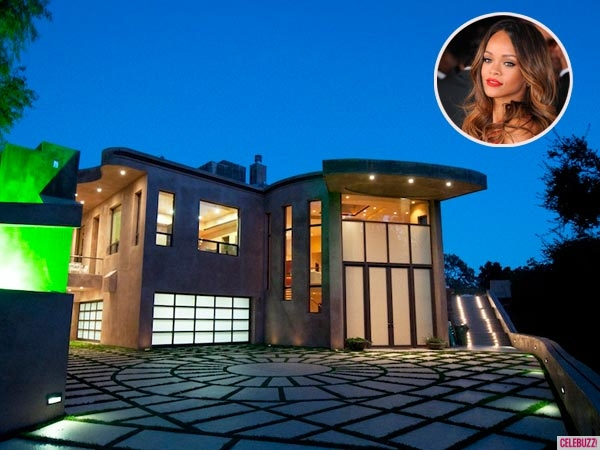 Rihanna's Mansion in Pacific Palisades